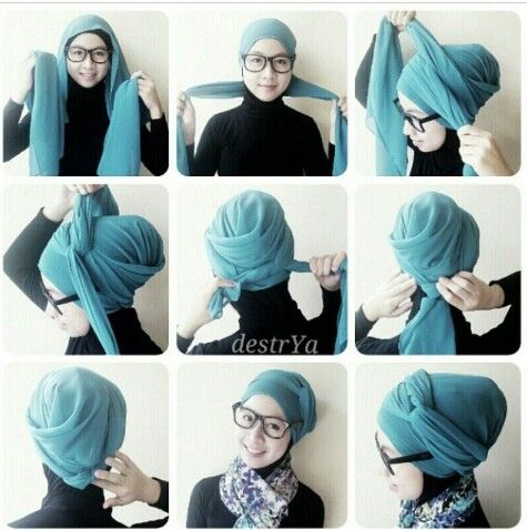Simple Tutorial hijab