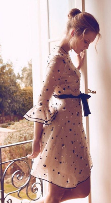My dream dress. Does anyone know where this is from (the dress)? (credit: Charlotte Cordes photographed by Koray Birand for Vogue Hellas, June 2011.)