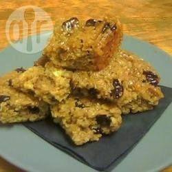 Recipe photo: Honey flapjacks