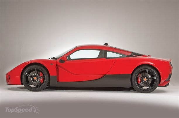 Ginetta G60, succeeds Ginetta F400 (nee Farbio GTS). A 'maturing' transformation of the intermediate car. Now only the (ok, still gorgeous) shape, rough size, and type of assembly survive from the original Farboud GTS. new specs:  1080kg= 2376lbs, switch to latest '310 hp' 3.7L  Ford V6 replaces the previous choice between the older 3.5L ford-v6s with 262hp and 350hp (supercharged). Only 100 will be made per year, presumably all for UK. Ginetta's website says 68k GBP.
