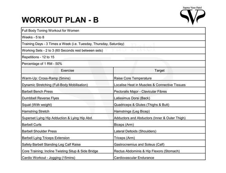 Workout Plan B