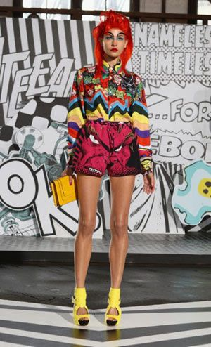 Romance was Born's highly anticipated collaboration with Marvel comics at MBFWA 2012.