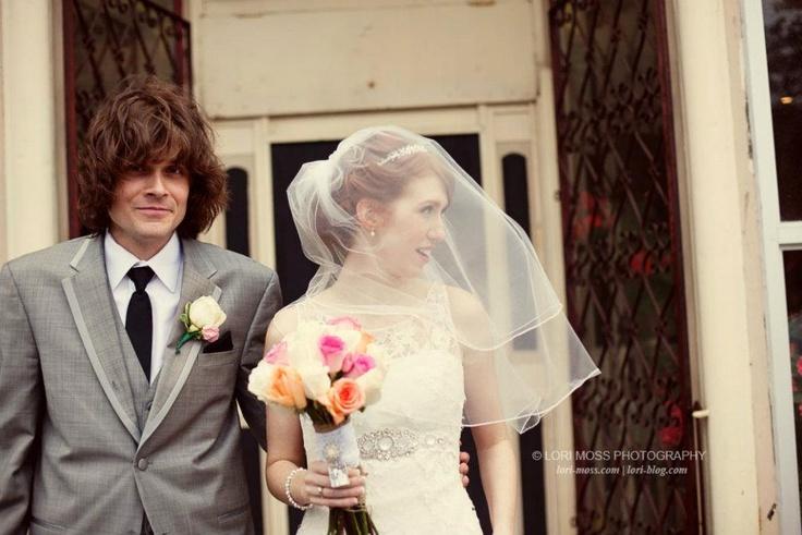 Vintage Wedding: Lisa + Ian  (Lori Moss Photography)