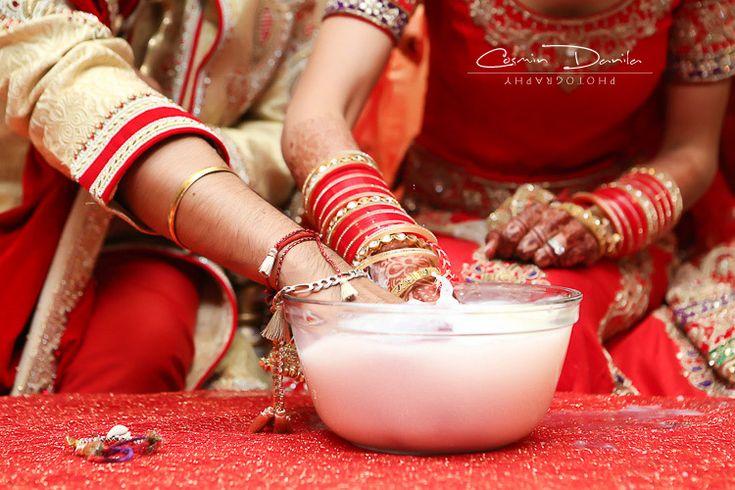 Calgary East Indian Wedding Photography Sikh Marriage Ceremony Punjabi Wedding Pictures Alberta Canada