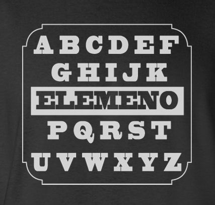 Trendy Pop Culture Funny ABCDE Elemeno Kids style reciting tee t-shirt tshirt Toddler Youth Adult Unisex Ladies All Sizes