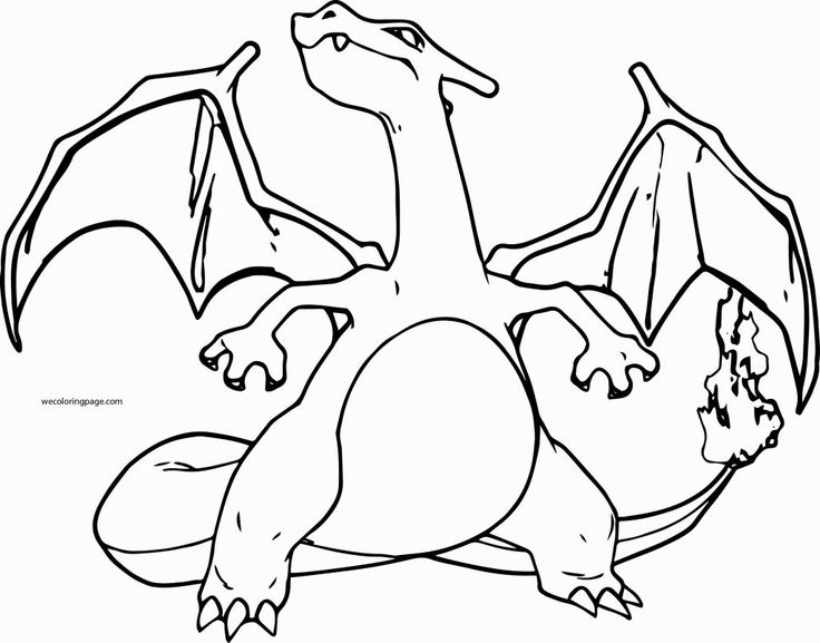 Pokemon Coloring Pages Charizard | Pokemon coloring pages ...