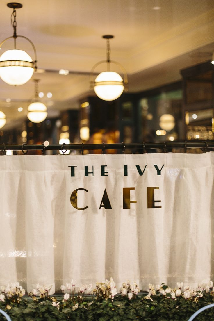 The Ivy Cafe Marylebone: I remember for my 18th birthday going to The Ivy and thinking how much of a special treat it was. I'd never visited anywhere like it before, and remember feeling completely sp