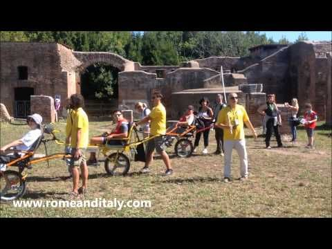 Rome and Italy Tourist Services NO LIMITS day - Ancient Ostia archaeological area. #accessibletourism