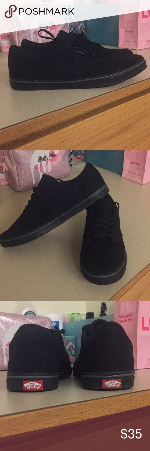 Vans Atwood low Skate shoe Brand new Women's Black/Black Vans Atwood Low Skate shoe (Size 8). NWOT Never used but do not have its box/packaging anymore. Vans Shoes Sneakers