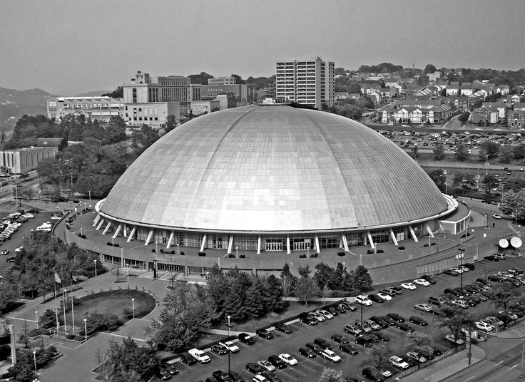The Igloo - Old Home Of The Pittsburgh Penguins  demolished - September 26, 2011