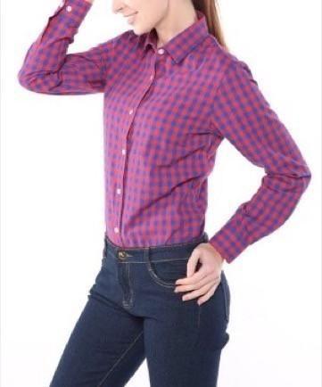 Plaid Blouse Long Sleeves – Ecolo.luca