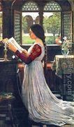 The Missal 1902  by John William Waterhouse
