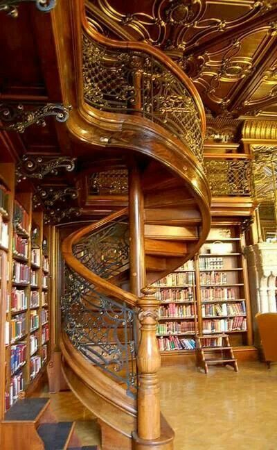 Szabo Ervin Library Budapest