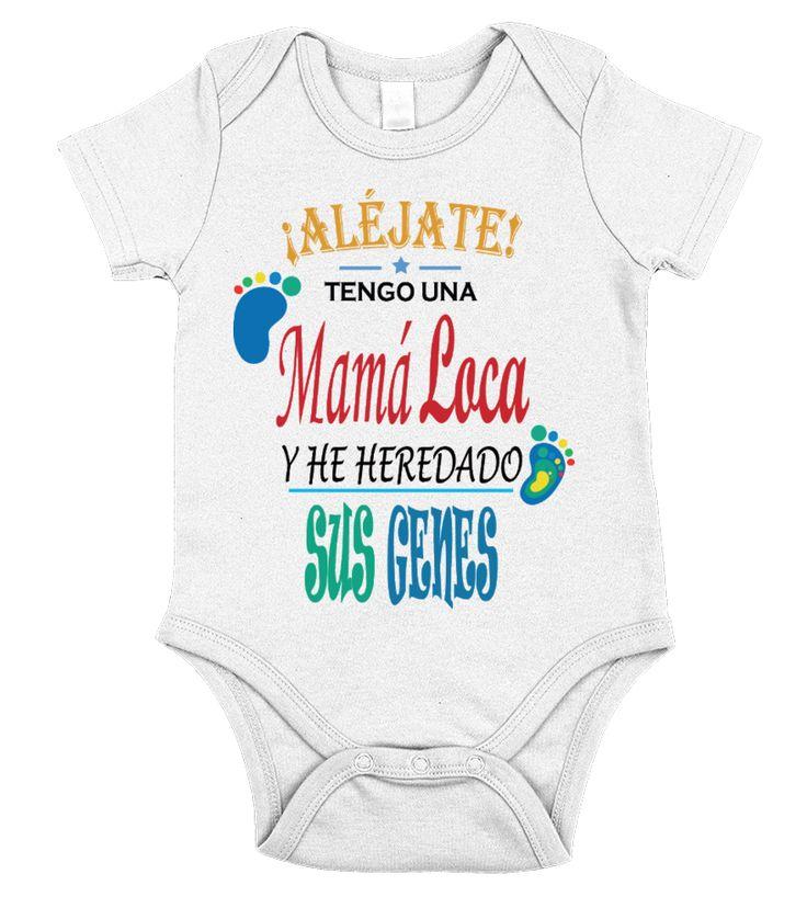 Mamá Loca bebe!!  #gift #idea #shirt #image #papa # grandpa #mama #mom #fatherday #motherday #birthday #christmas #cool #coffeemugs
