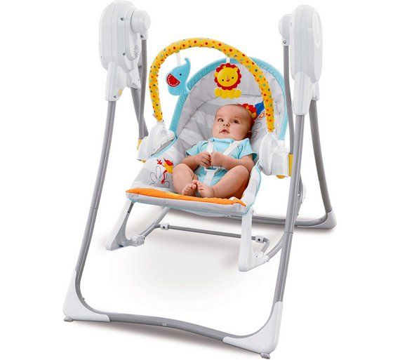 Buy Fisher-Price 3 in 1 Rocker Swing at Argos.co.uk - Your Online Shop for Baby swings, Baby bouncers and swings, Baby toys, Baby and nursery.