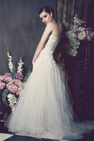 [EXCLUSIVE FIRST LOOK] Kobus Dippenaar Anna Georgina 2014 Bridal Collection - Christelle | Confetti Daydreams ♥  ♥  ♥ LIKE US ON FB: www.facebook.com/confettidaydreams  ♥  ♥  ♥ #Wedding #WeddingDress #WeddingGown