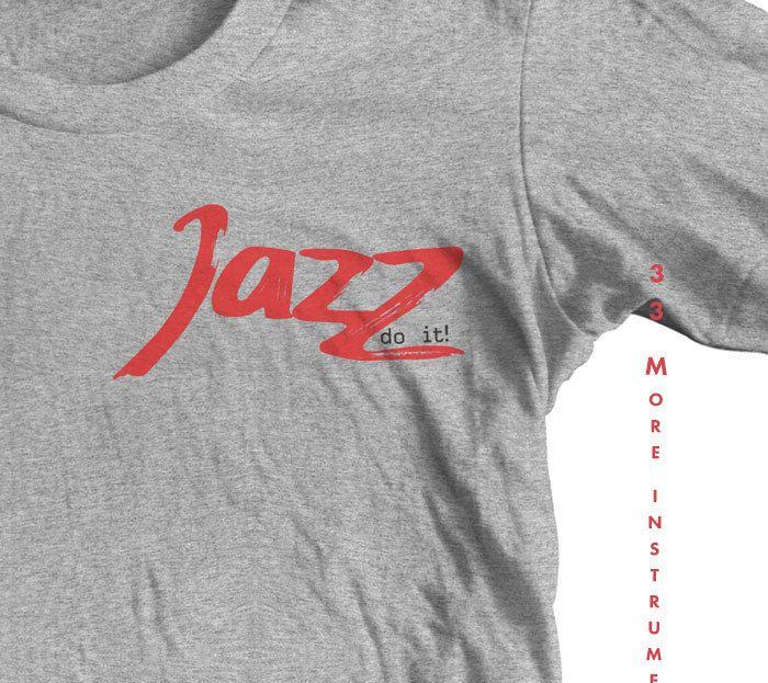 Saxophone shirt JAZZ do it T shirt. SAXOPHONE MUSIC. Saxophone charm