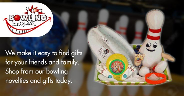 We make it easy to find gifts for your friends and family. Shop from our bowling novelties and gifts today.  #bowling #gifts #products #giftbasket #chocolates #frames #toys #games #novelties #party #high-quality #delivery #giveaway #BowlingDelights #shopping #deals #sale