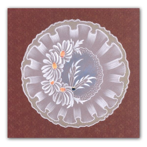 Claritystamp Groovi Plates - Frilly Circles - Claritystamp from Crafter's…
