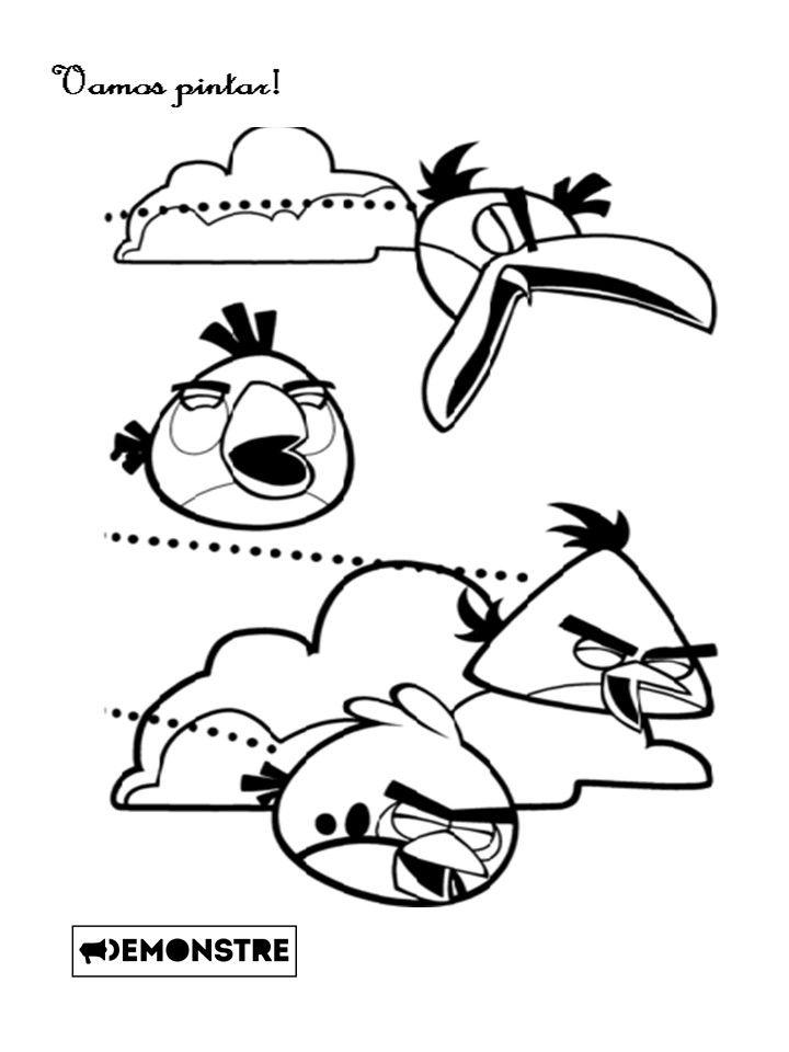 Desenhos Para Colorir Do Angry Birds Check More At Https