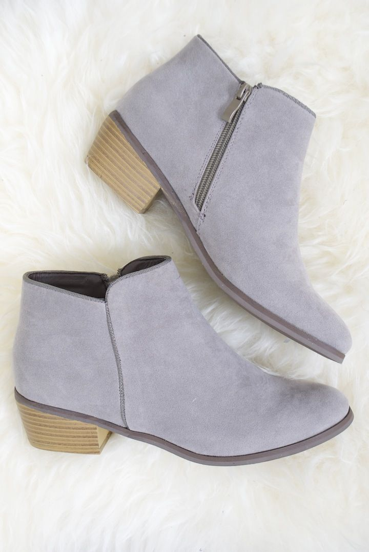 The perfect grey boot.