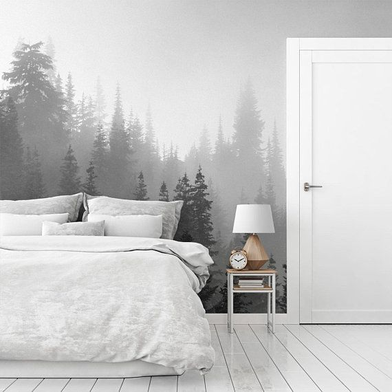 Tree Mural Large Wall Photo Interior Decor Pine Tree Wallpaper Self Adhesive Mural Wallpapers Scenic Wall Art Washington State Mw004 Tree Mural Scenic Wall Art Mural Wallpaper