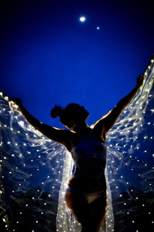LED wings 2012 Photography by Eric Beggs. Model: Ishani Ishaya