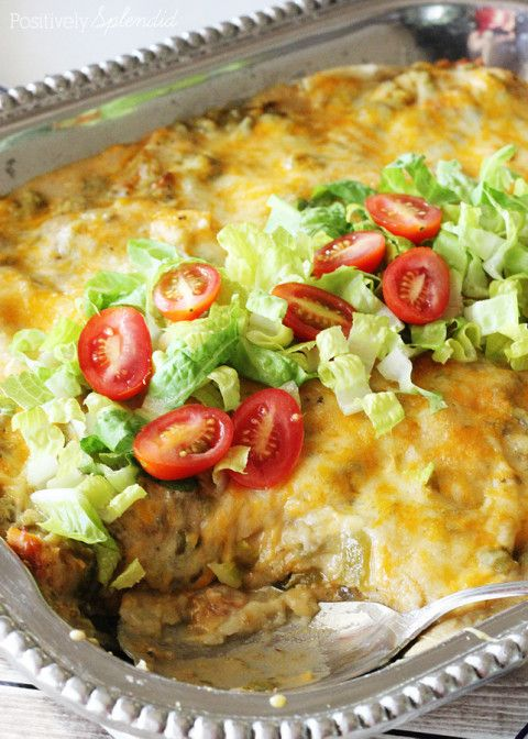 Chicken Enchiladas Suiza Food Network
