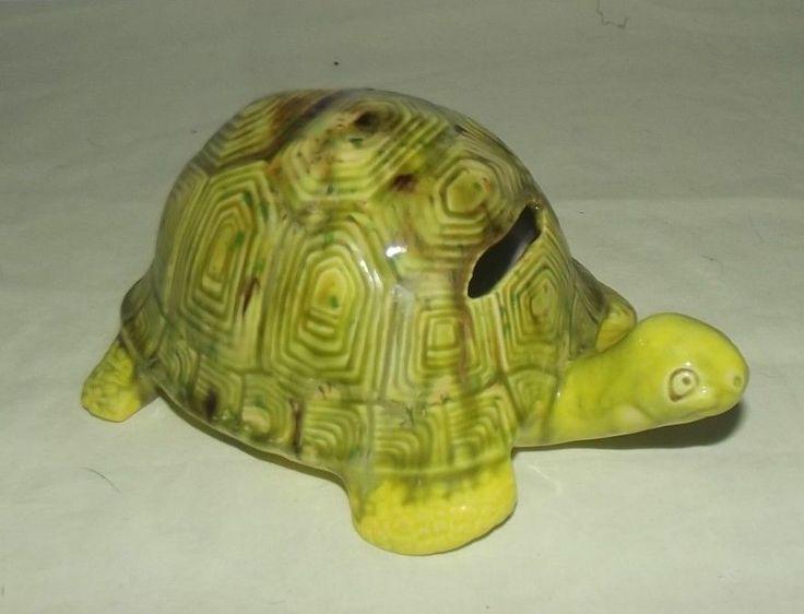 Vintage Ceramic Turtle Piggy Bank Items For Resale