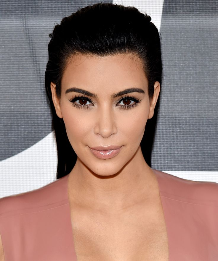 Kim Kardashian West Goes Very Blonde for Kanye West's #YeezySeason3 Show—See the Photo from InStyle.com