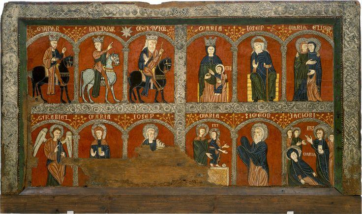 Frontal d'altar de Mosoll   Museu Nacional d'Art de Catalunya