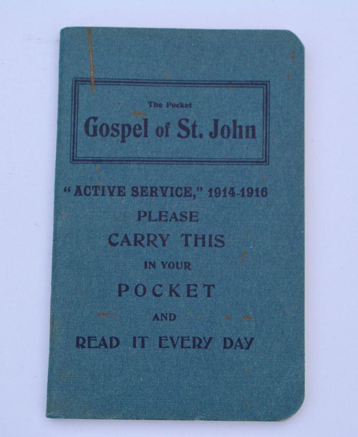 Gospel of St John Naval & Military Bible