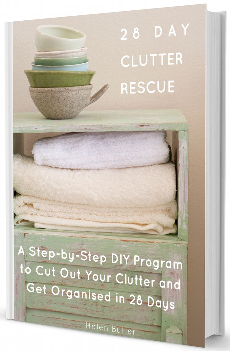 The '28 Day Clutter Rescue' ebook is on sale! Sale Price $20 (save $29!). Don't miss out! Sale ends 21 June. #helenjoybutler #clutterrescue #organising #decluttering #eofy #endoffinancialyear #sale