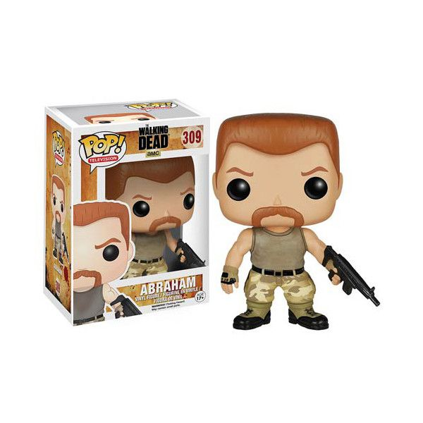 The Walking Dead Abraham Pop! Vinyl Figure