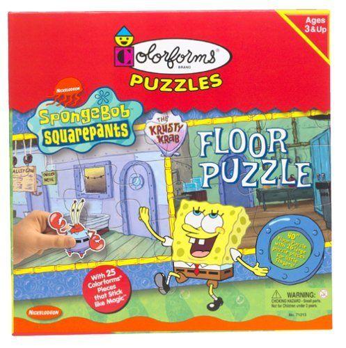 Spongebob Squarepants Floor 26pc Puzzle by University Games Corportation. $33.95