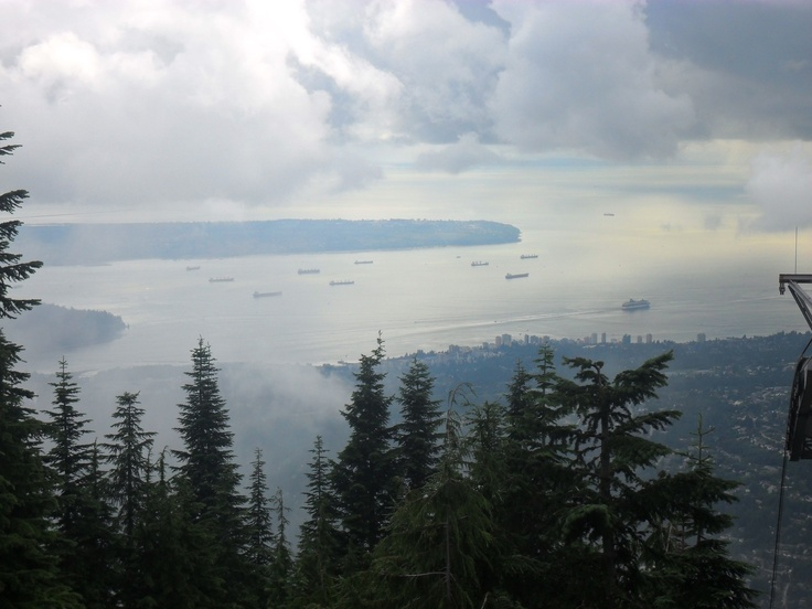 View from Grouse Mountain