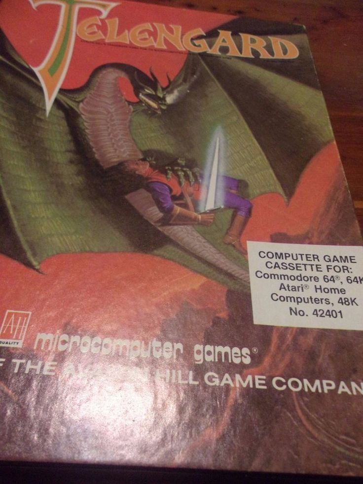 Telengard Commodore 64 1983 Avalon Hill - Complete Cassette Version  with Poster | Video Games & Consoles, Video Games | eBay!