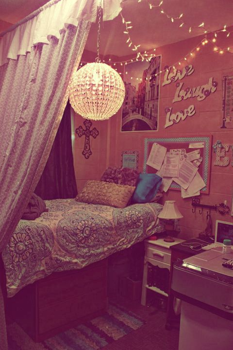 Hopeful Wandering: How to create a cute Dorm Room look!!