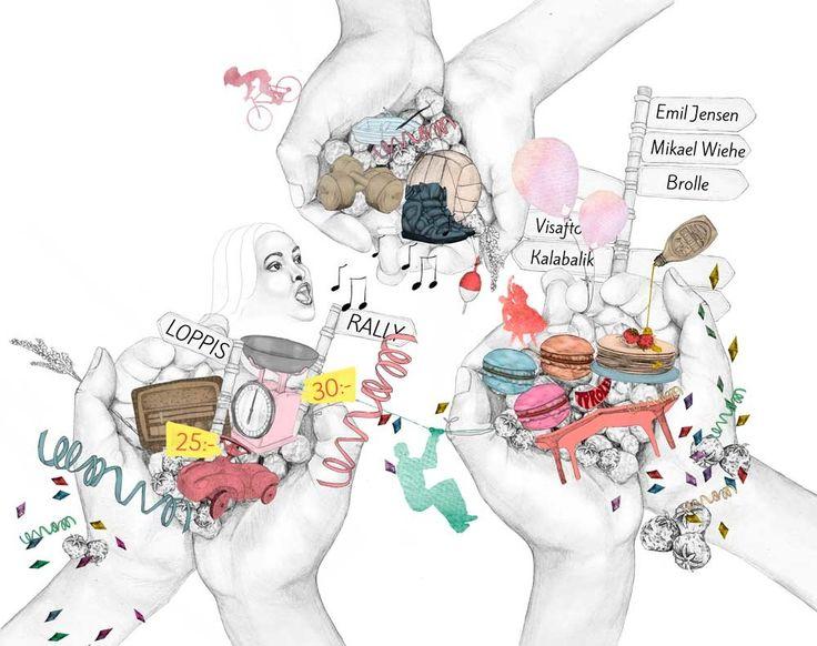 Mia Valgren Illustration - Work