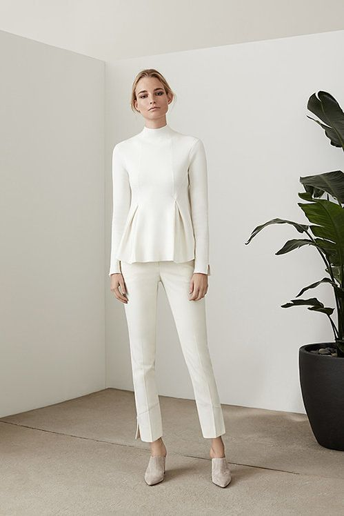 Spring is around the corner - get your wardrobe ready from London !                                SOFIE  HIGH-NECK A-LINE JUMPER  ECRU  $230    VIEW PRODUCT                                        TORI  TAILORED TROUSERS  OFF WHITE  $230    VIEW PRODUCT