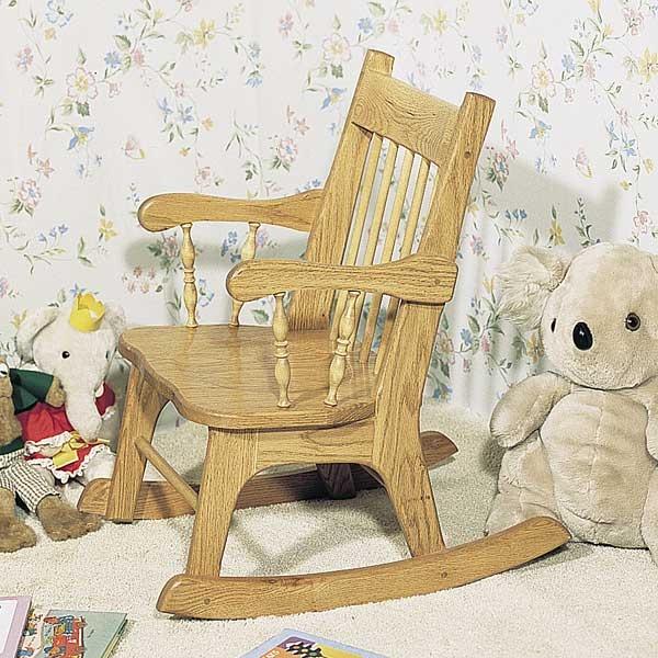 U Do Child S Rocker Woodworking Kit Red Advanced Maple