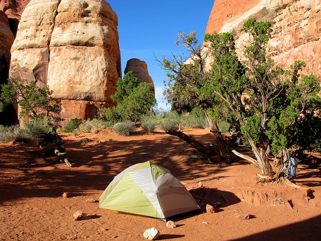 Trailer Parks For Sale >> Camping in Chesler Park, located in the Canyonlands ...