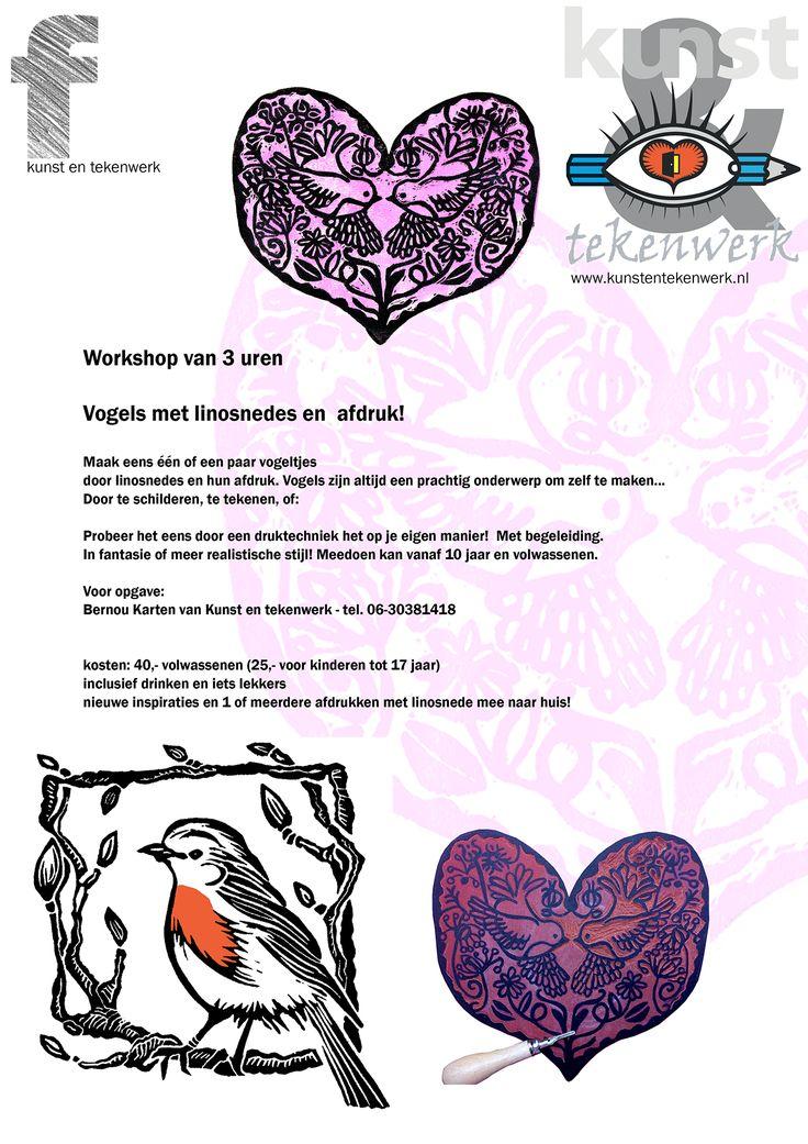 een leuke idee als workshop om met Valentijnsdag op 14 februari aan te vragen!..