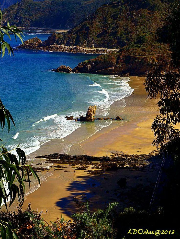 Playa de Aguilar - Asturias, Spain