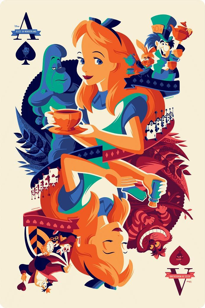 """Mondo's """"Never Grow Up: A Disney Art Show"""" Opens Today and We've Got More Amazing Art to Share!"""