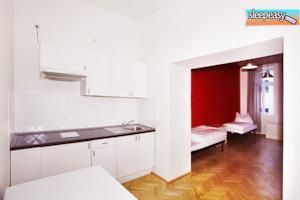One of our cozy rooms #kitchen #room #travel #hostelprague #prague