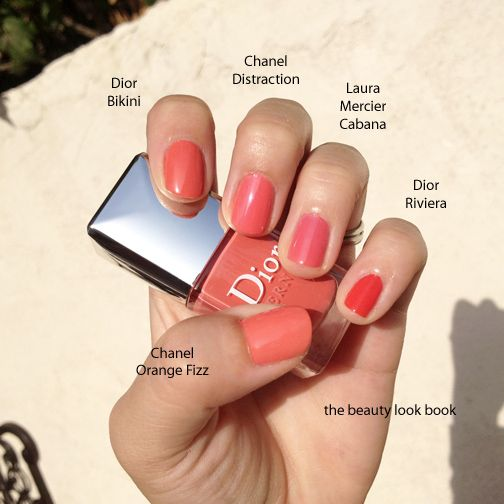 The Beauty Look Book: Coral Nail Polishes for Spring and Summer