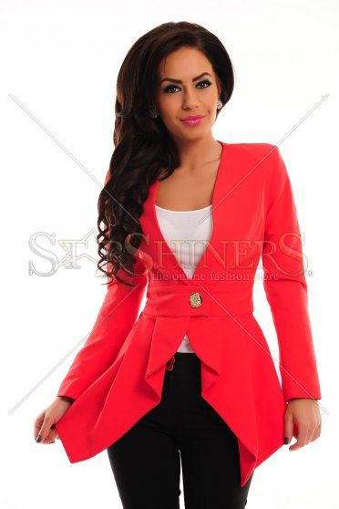 Sacou PrettyGirl Fiction Coral