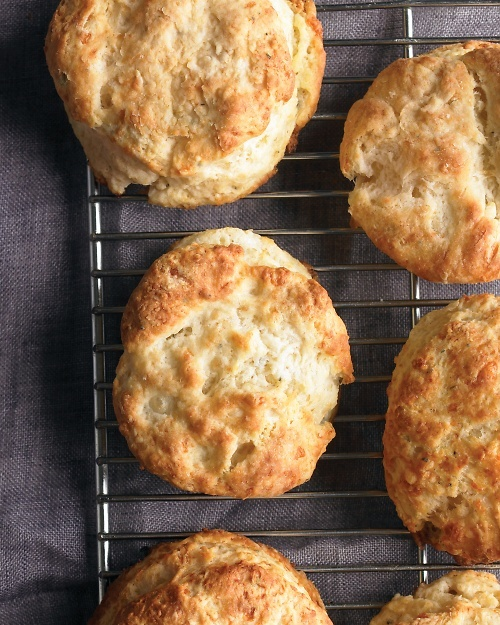 Cheddar and Sage Biscuits Recipe | Cooking | How To | Martha Stewart ...