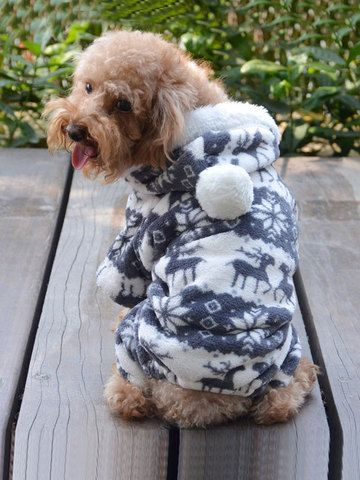 Cute Deer Pattern Sweater Dog Clothes